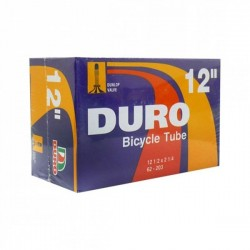 CAMARA 12-1/2 X 2-1/4 DURO VALVULA DE BICICLETA