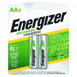 PILA RECARGABLE ENERGIZER BLISTER AAX2 2000 MAH