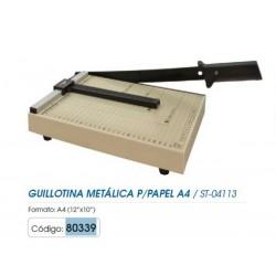 """GUILLOTINA METALICA TAMAÑO A4 12""""x10"""" ST-04113"""