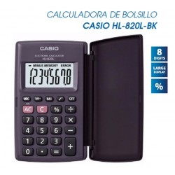 CALCULADORA CASIO HL-820LV-BK