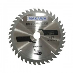 "DISCO SIERRA PARA MADERA 4.5"" X40T MAKAWA"