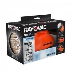 FOCO 10 LEDS CON PILAS D 100 LUMENS RAYOVAC