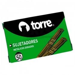 ACOCLIPS METALICO DORADO 50 UND. TORRE