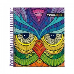 CUADERNO TOP COLOR 7 MM 150 HJS TORRE