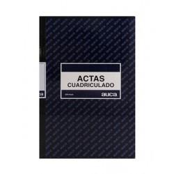 LIBRO ACTAS CUADRICULADO 100 HJS. AUCA