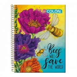 CUADERNO TOP NATURA 7MM. 150H. COLON