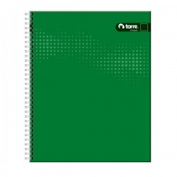 CUADERNO TORRE UNIV. CLASICO LISO CROQUIS 100 HJS.