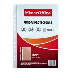 FUNDAS PROTECTORA OFICIO MR OFFICE 35MIC