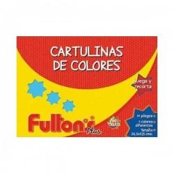 CARPETA CARTULINAS FULTONS 14 HJS. 11 COL.