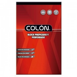 BLOCK COLON OFICIO MAT 7MM BO-32/80