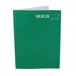 CUADERNO COLLEGE AUCA LISO CROQUIS 80HJS.