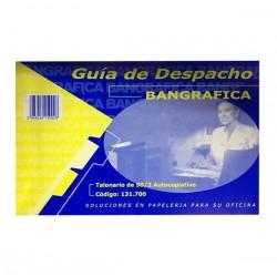 GUIA DE DESPACHO AUTOCOPIATIVO BANGRAFICA 50-2