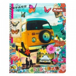 CUADERNO CLASICO GINGER&BREAD 7MM 100H TORRE