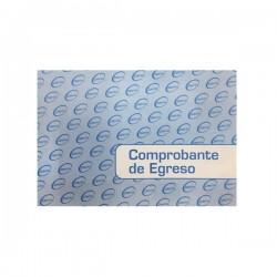COMPROBANTE DE EGRESO 50 HJS. DANTE