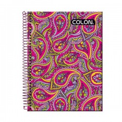 CUADERNO UNIV. TE FEMINA 7MM. 100H. COLON