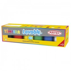 TEMPERA ARTEL 12 COLORES 15 ML
