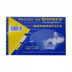 RECIBO DE DINERO AUTOCOPIATIVO BANGRAFICA 50-2