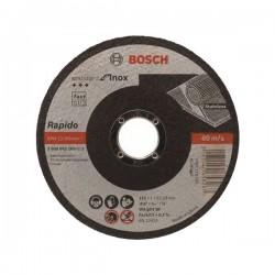 DISCO DE CORTE INOX BOSCH 4 1/2 1MM ESPOL