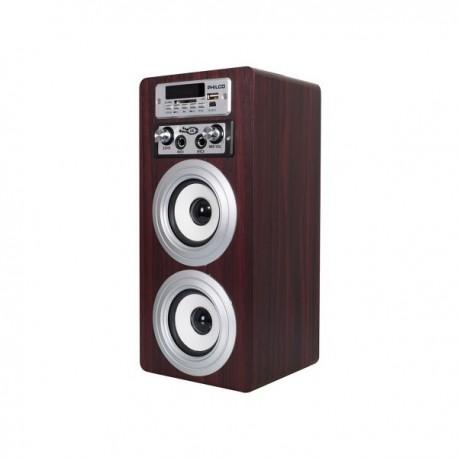 Parlante portatil karaoke Philco bluetooth 20w