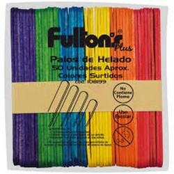 PALOS DE HELADO SURTIDOS APROX. 50 UN FULTONS