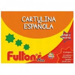 CARPETA CARTULINA ESPAÑOLA 25X35 CM 10 HJS FULTONS