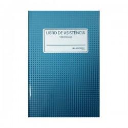 LIBRO ASISTENCIA 100 HJS.TAPA DURA LAVORO